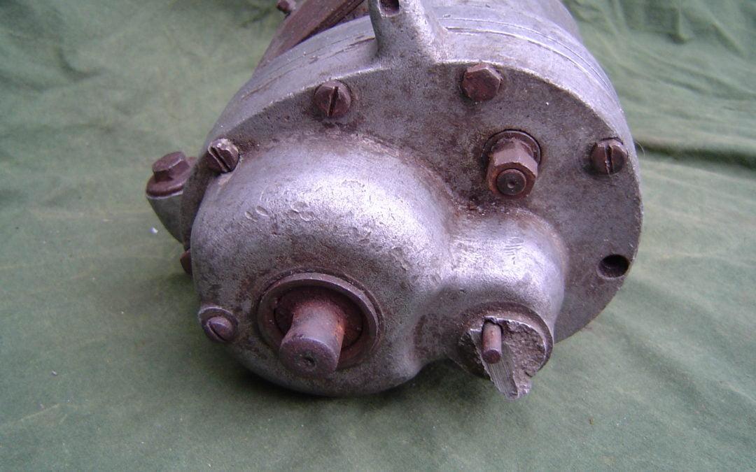 BSA motorfiets versnellingsbak motorcycle gearbox  1932 ??   four speed