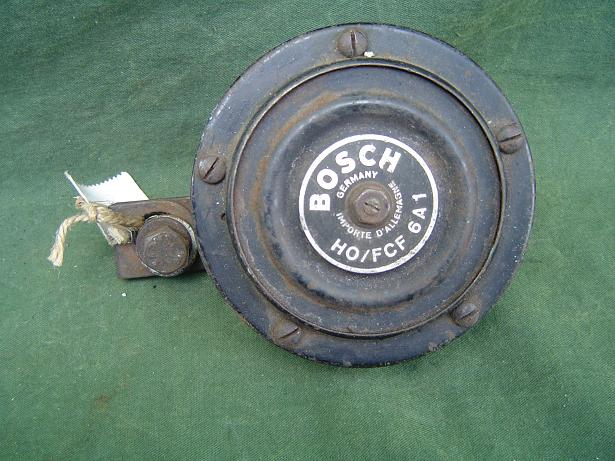 BOSCH claxon HO/FCF6A1 1950's hupe horn 6 volt