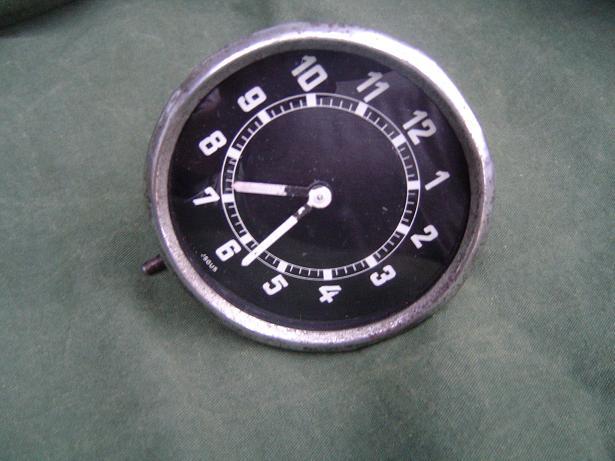 JSGUS klokje uhr clock 8 day dkw ? mercedes ?