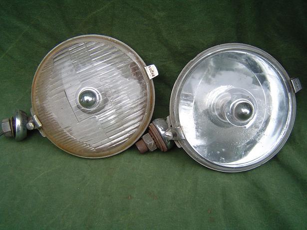 LUCAS SFT 576 1959 ? setje lampen jaren 50