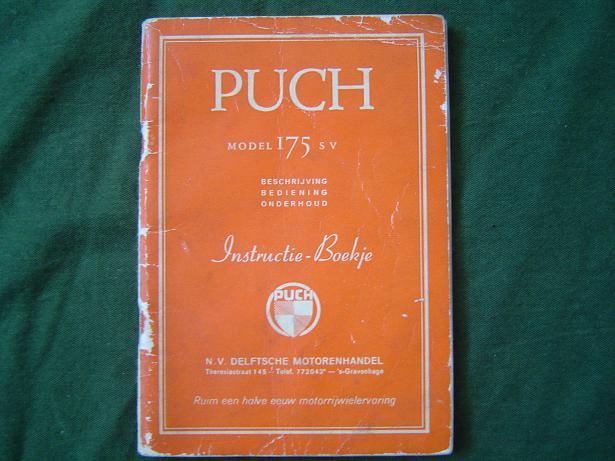 instructie boekje PUCH 175 SV 1955 ?