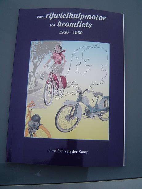 van rijwielhulpmotor tot bromfiets 1950 – 1960 cyclemotor book