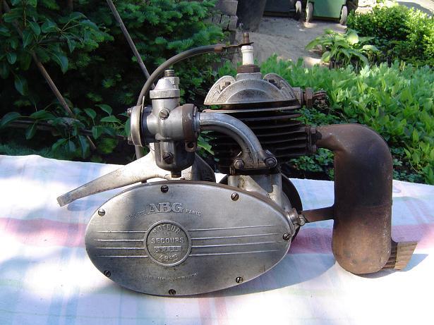 VAP ABG hulpmotor cyclemotor hilfsmotor 1950?