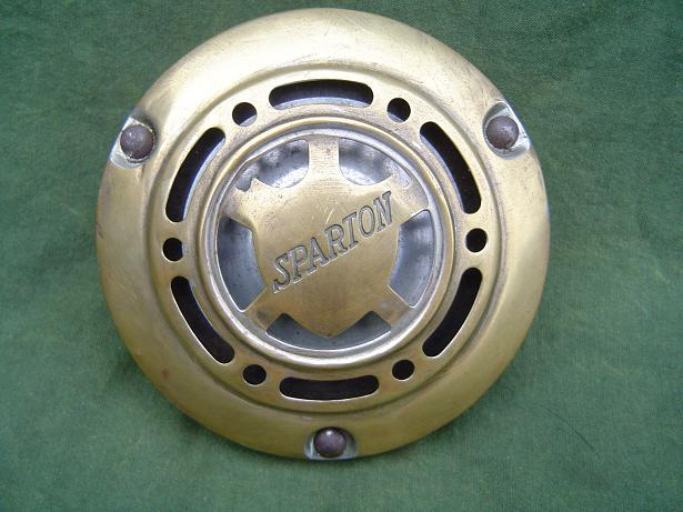 SPARTON usa toeter claxon horn hupe 30/40´s 6 volt INDIAN ??