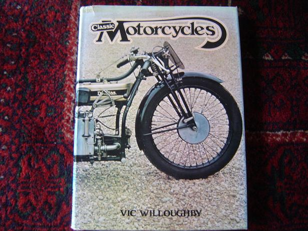 Classic motorcycles Vic Willboughby