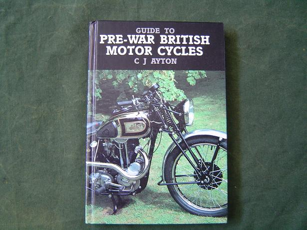 pre-war british motorcycles cj.ayton 1985