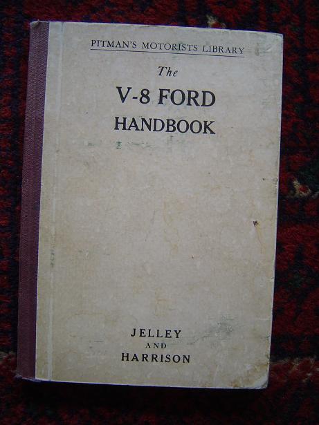 FORD V8 handleiding 1938