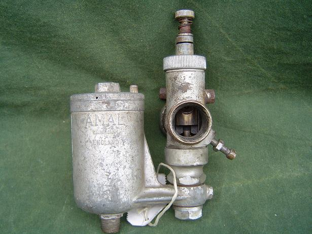 AMAL 47/022/S bronzen carburateur vergaser carburetter