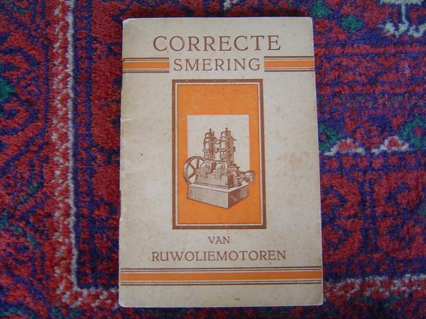 CORRECTE SMERING VAN RUWOLIEMOTOREN  GARGOYLE  1920 ??