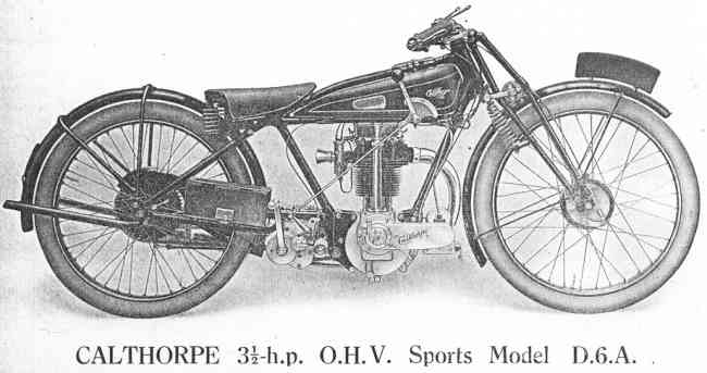 wanted : CALTHORPE 1928 OHV engine plus gearbox