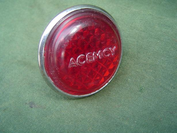 ACEMCY achterlichtje  bicycle rearligth 1940 / 50's Belgium