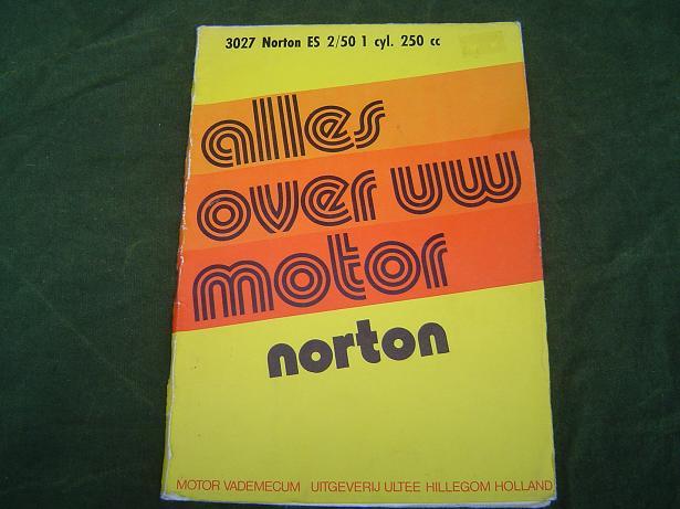 alles over uw NORTON  ES 2  / 50 250 cc  1960