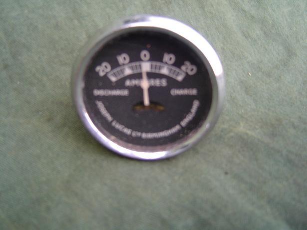 JOSEPH LUCAS 20 – 20 ammeter model CZ 30 amperemeter