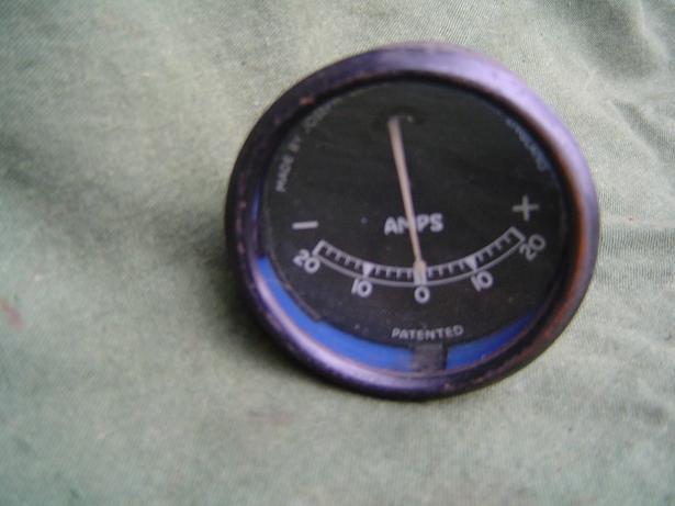 JOSEPH LUCAS 20 – 20 ammeter ampere meter type BM