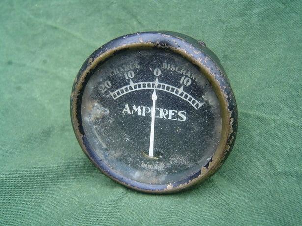 LUCAS 20 – 20 ampere meter ammeter   BM4 L38