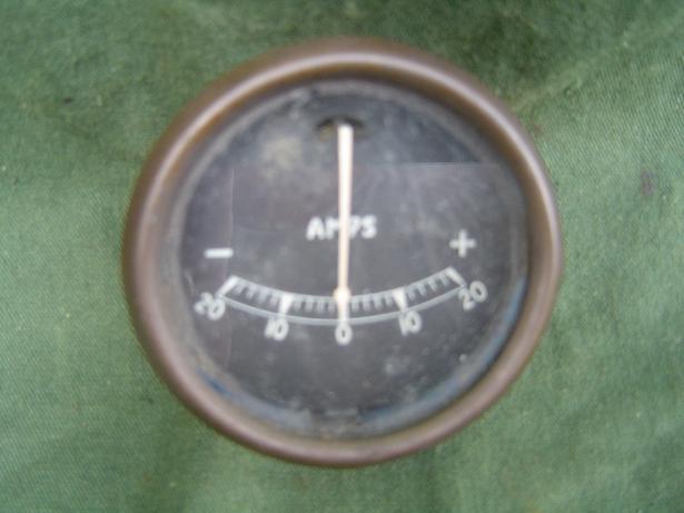 LUCAS ampere meter 20 20  model BM ammeter
