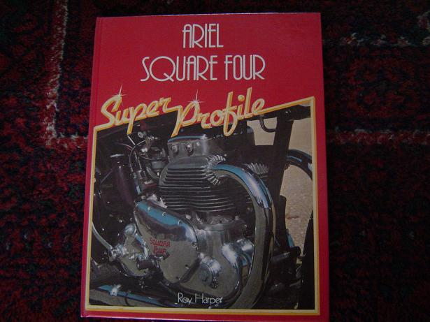 ARIEL SQUARE FOUR super profile by  Roy Harper