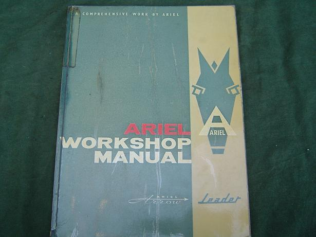 ARIEL Arrow en Leader workshop manual 1962