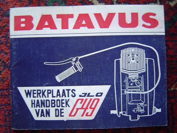 BATAVUS ILO G49 werkplaatshandboek