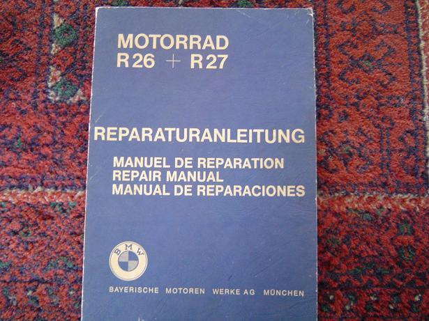 BMW R 26  R27  reparaturanleitung