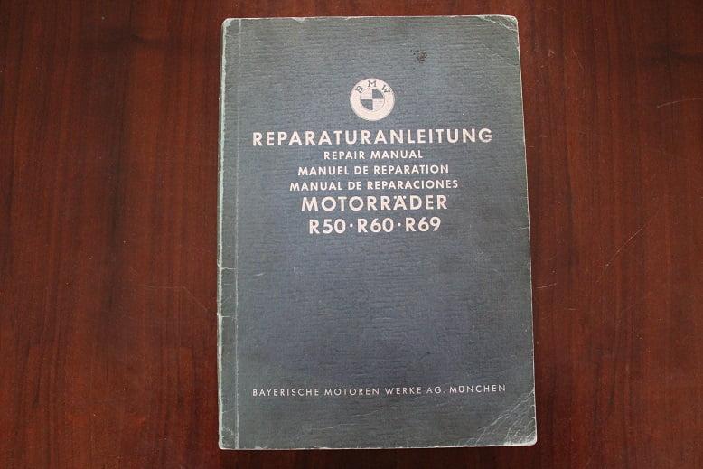 BMW R50 R60 R69 1958 reparaturanleitung repair manual