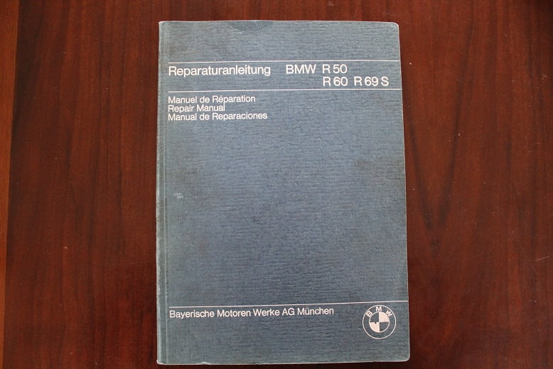 BMW  R 50 , R 60 , R 69 S  1969 reparaturanleitung repair manual