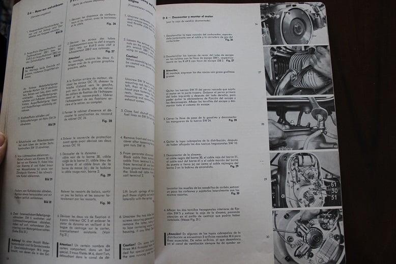Bmw R 50   R 60   R 69 S 1969 Reparaturanleitung Repair