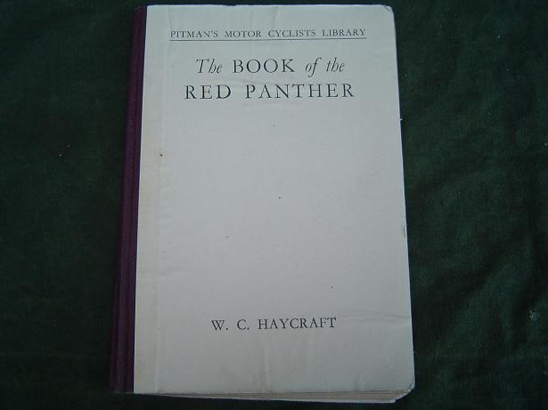 Pitman's book of the RED PANTHER  W.C. Haycraft