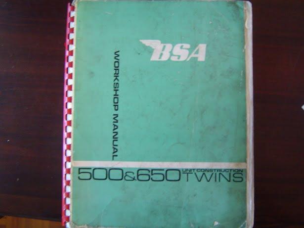 BSA 500 en 650 unit construction  twins  A50 A65  Star Competition Clubman