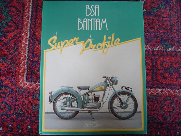 BSA BANTAM super profile  Jeff Clew  1983