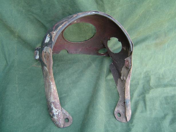 BSA headlamp nacelle koplamp nacelle koeiekop 1950's