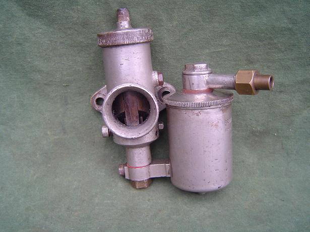 BROWN en BARLOW 1920's carburetter carburateur vergaser