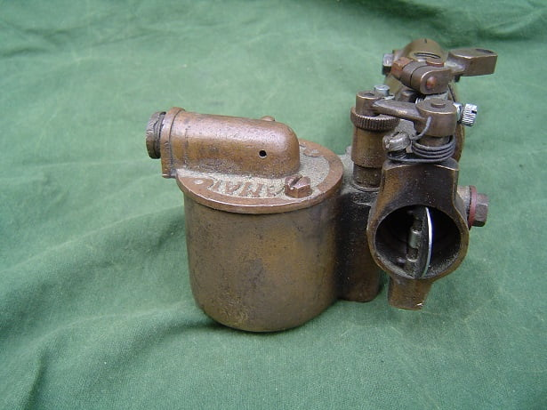 bronzen AMAL F347 carburateur stationaire motor 1920's ?? stationair engine