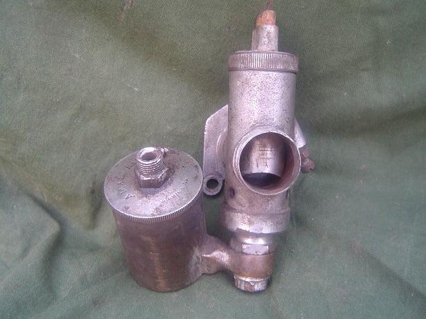 AMAL 6/151 SCOTT motorcycle 1930's bronze carburettor vergaser carburateur