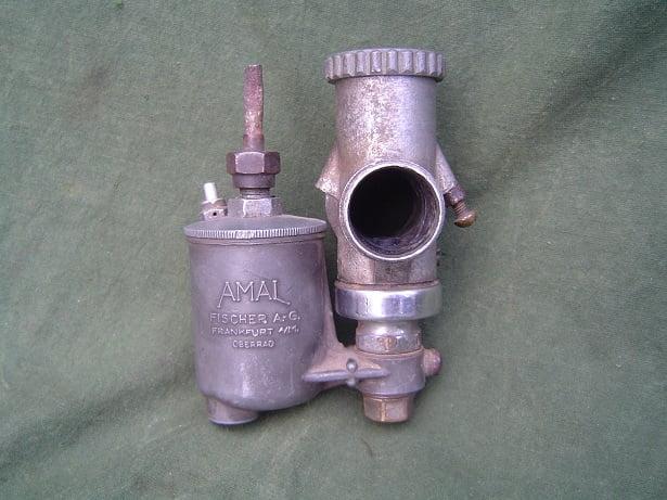 AMAL FISCHER ?? 6/125 carburettor vergaser carburateur BMW Zündapp ???