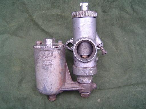 AMAL 6/109 bronzen carburateur messing vergaser carburetter 1930's