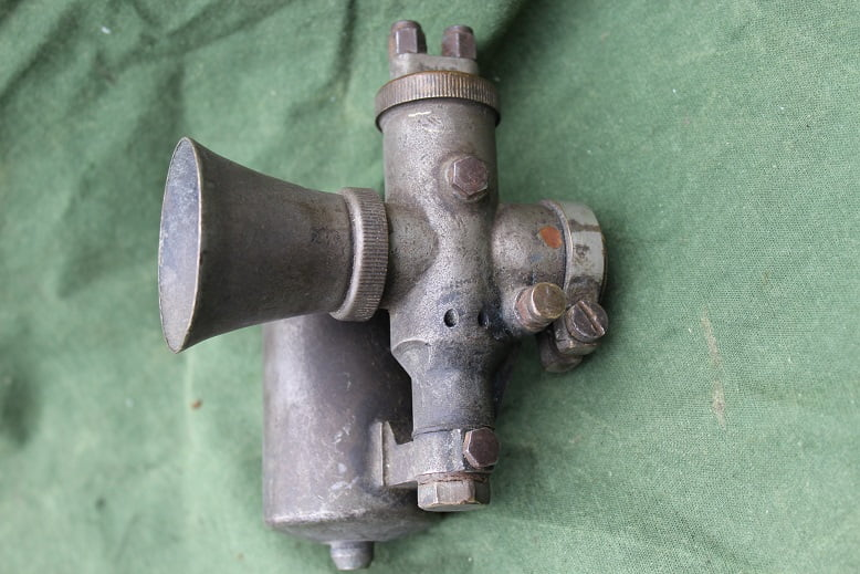 BROWN & BARLOW FISCHER AG bronzen carburateur bronze messing vergaser carburettor 1920's