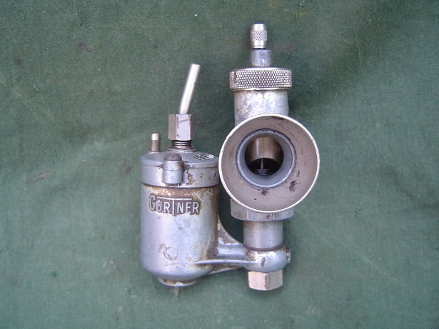 GURTNER M18 carburateur vergaser carburettor 1940's two stroke ?