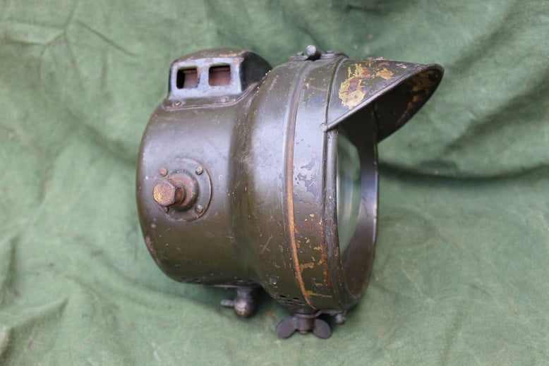 P & H Powell & Hammer WD acetylene lamp Douglas ?? WOI 1914-1918
