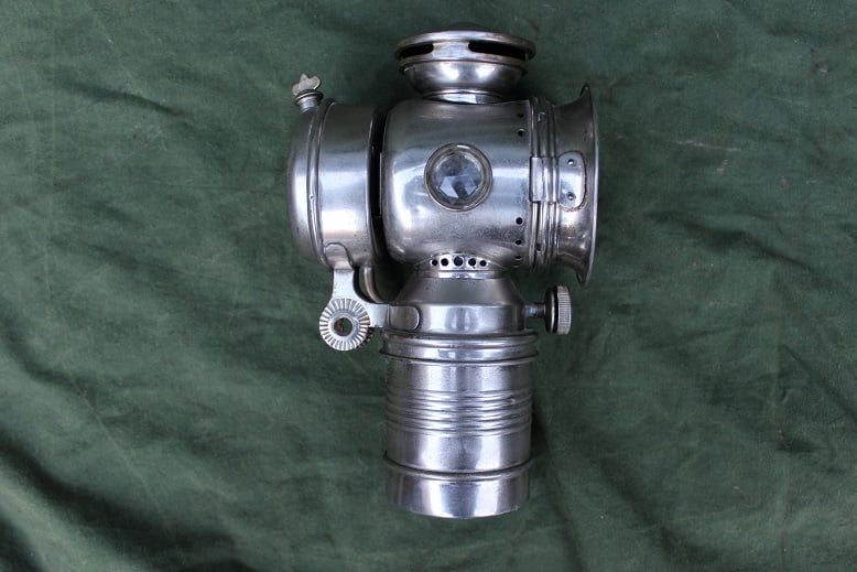 1915 acetylene motorcycle lamp motorfiets carbidlamp karbidlampe
