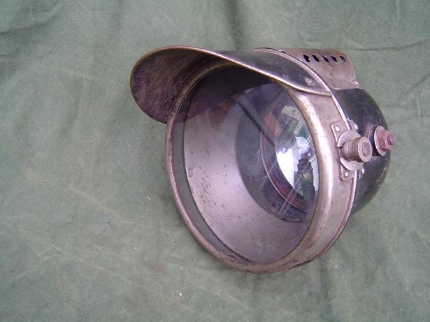 carbidlamp france acetylene lamp 1920's magnin cindo