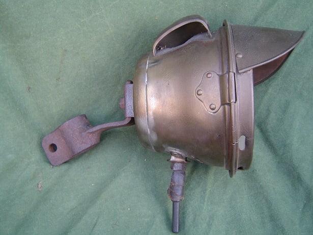 RADSONNE carbid lamp acetylene lamp karbidlampe 1910 1915