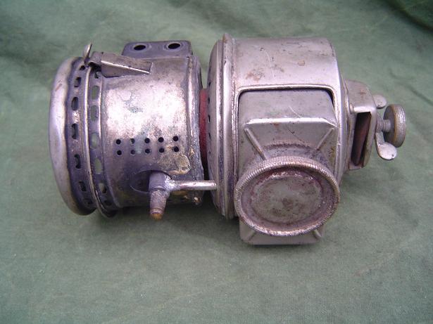 carbid lampje 1910 ? acetylene lamp motorcycle