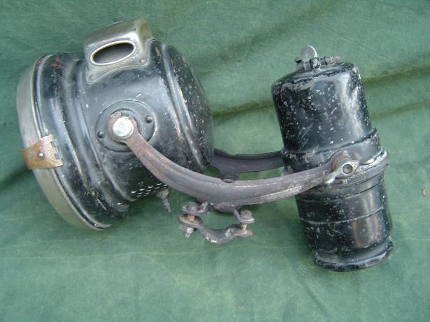 joseph lucas carbidset 1920's lamp no. 420 potje no. 42 acetylene lamp generator