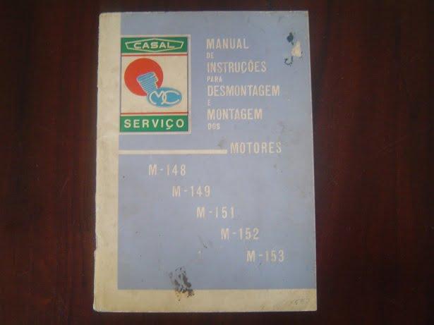 CASAL M 148 M 149 M 151 M 152 M 153 2 en 4 versn motor service