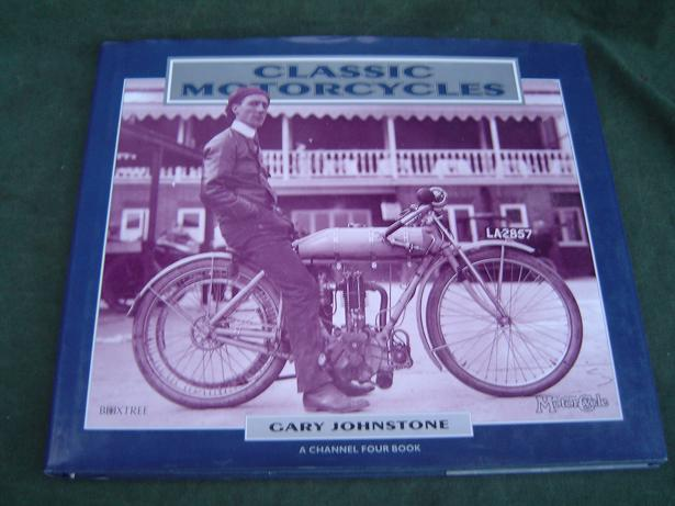 Classic motorcycles Gary Johnstone