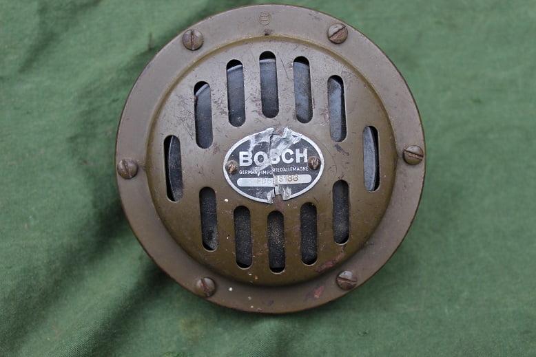 BOSCH FD6  D?S133 1930 / 1940 claxon horn hupe 6 volt FD6DS133