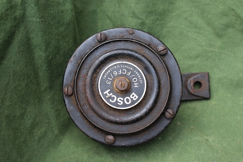 BOSCH HO/FCF 6/13 6 volts claxon hupe horn 1950's motorcycle