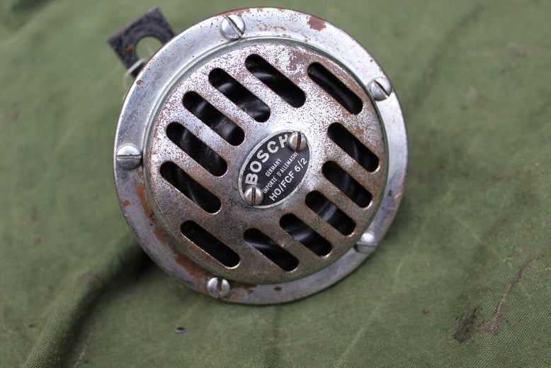 BOSCH HO/FCF 6/2 6 volts claxon horn hupe 1940's