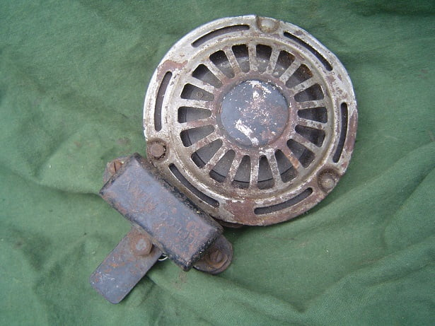DELCO REMY 16  6 volts claxon horn hupe Harley Davidson 1930 / 1940